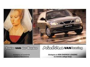 """""""Sławne Vany"""" – kreacja dla BDK-Daewoo Leasing"""