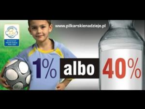 Spot reklamowy dla Piłkarskich Nadziei