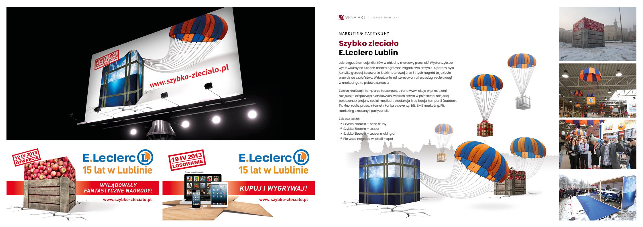 Szybko zleciało —E.Leclerc Lublin