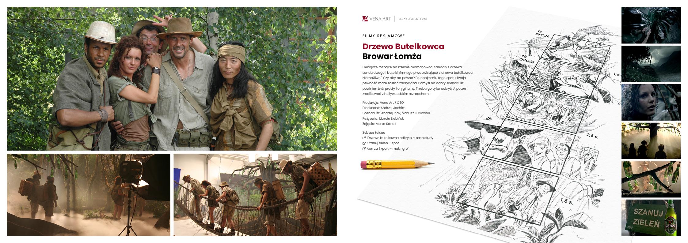 Drzewo Butelkowca —Browar Łomża