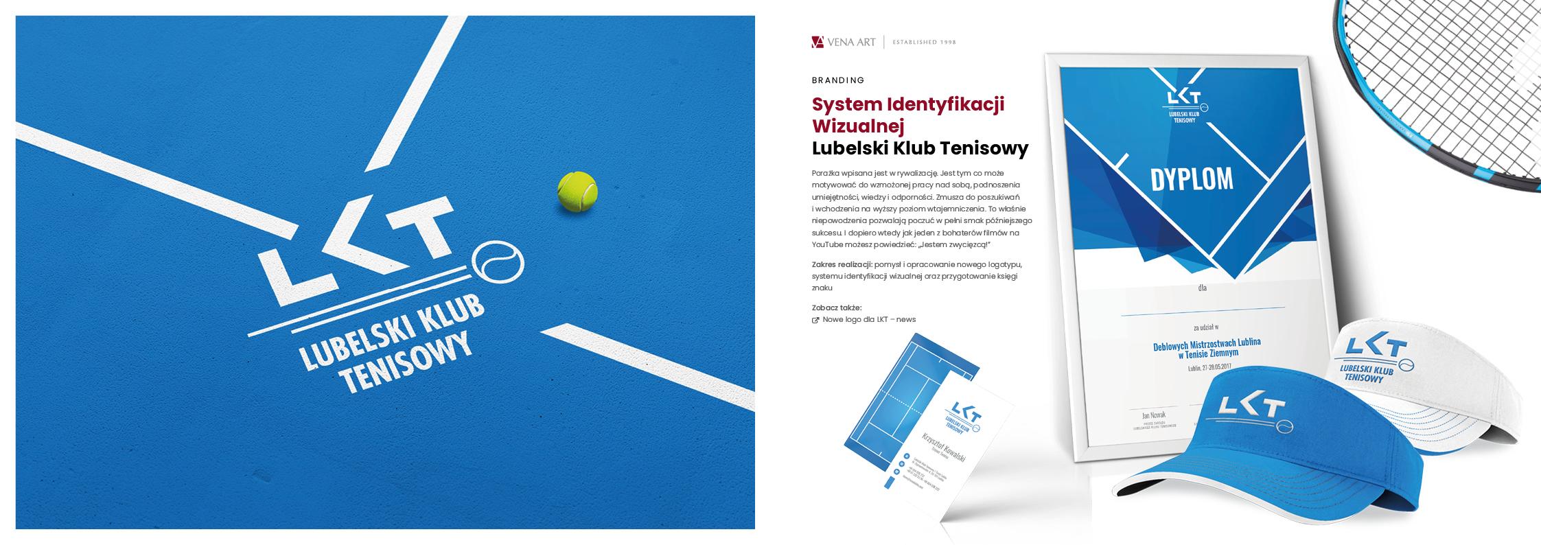 System Identyfikacji Wizualnej —Lubelski Klub Tenisowy