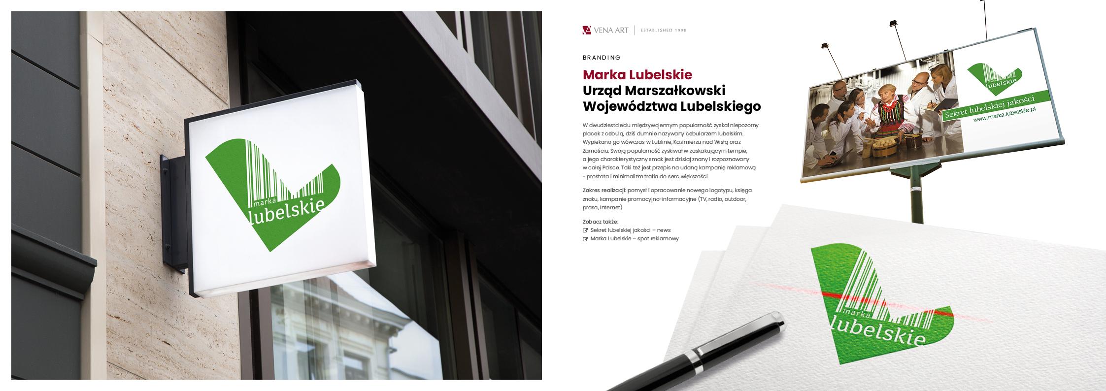 Marka Lubelskie —Urząd Marszałkowski Województwa Lubelskiego