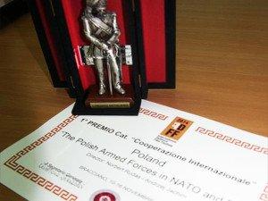 Międzynarodowa nagroda zafilm oWojsku Polskim