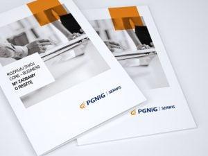Folder dla PGNiG Serwis