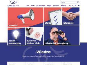 Strona główna witryny internetowej konteksthr.pl [dostęp: 21 maja 2019]