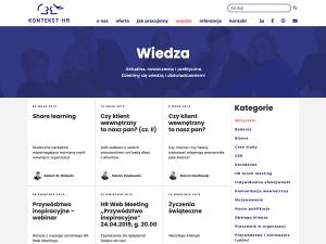 Podstrona Wiedza - widok wszystkich wpisów nablogu [dostęp: 21 maja 2019]