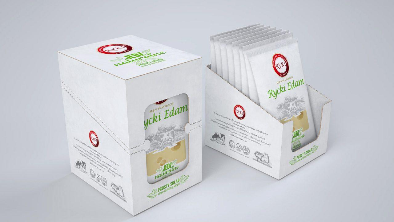 Rycki Edam - flow pack
