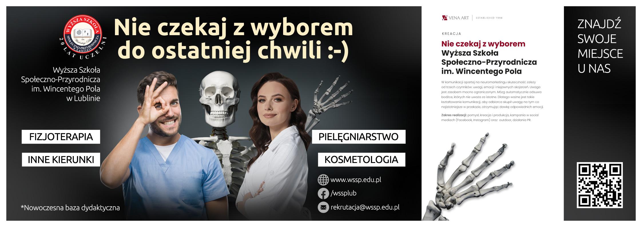 Nie czekaj zwyborem —Wyższa Szkoła Społeczno-Przyrodnicza im.Wincentego Pola