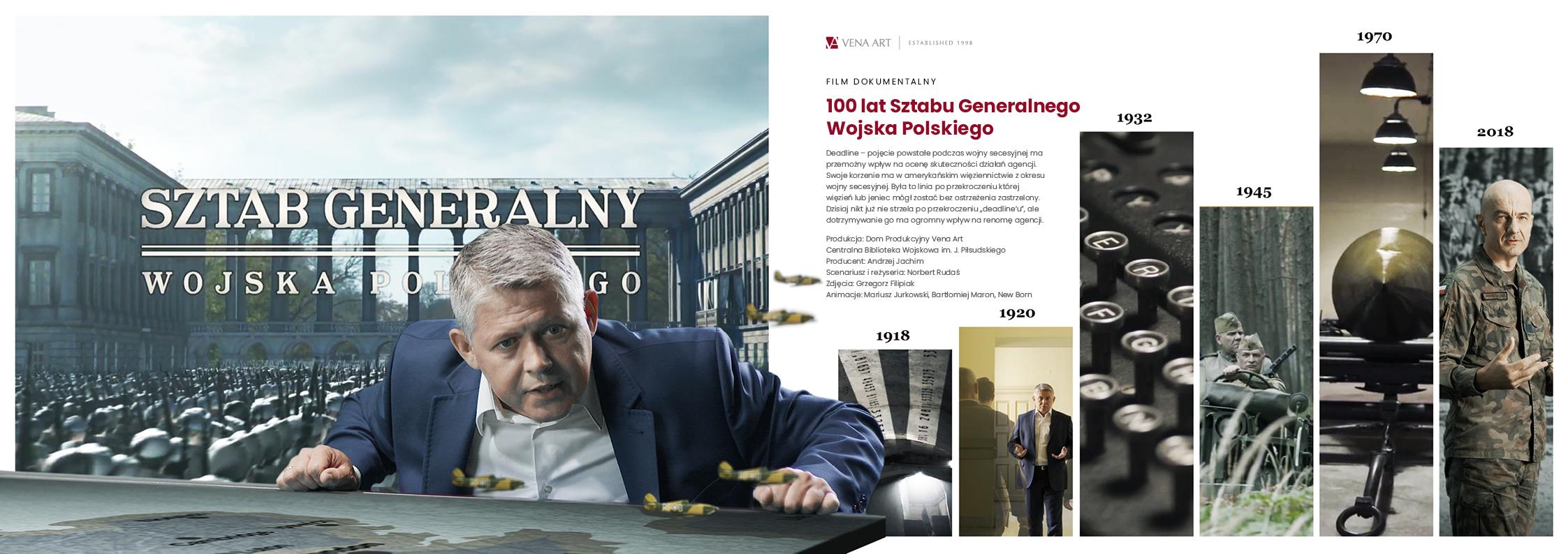 100 lat Sztabu Generalnego Wojska Polskiego