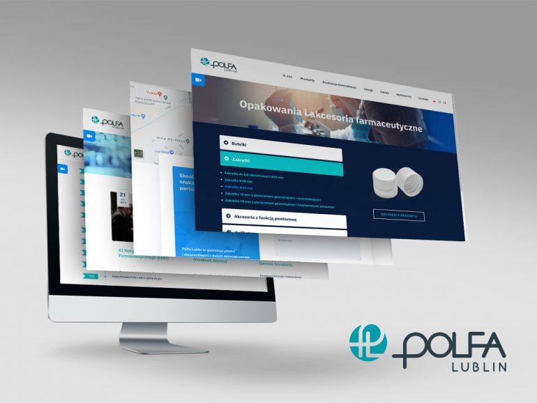 Polfa Lublin - nowa strona internetowa na 75-lecie