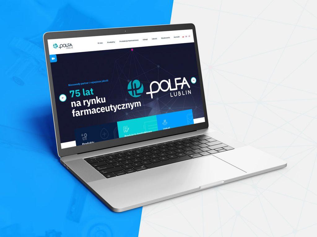 Polfa Lublin - nowa strona internetowa na75-lecie