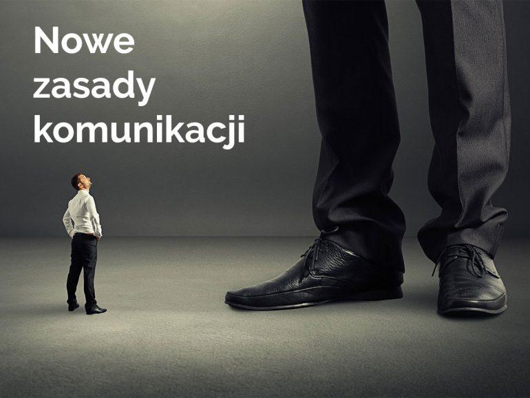 Nowe zasady komunikacji